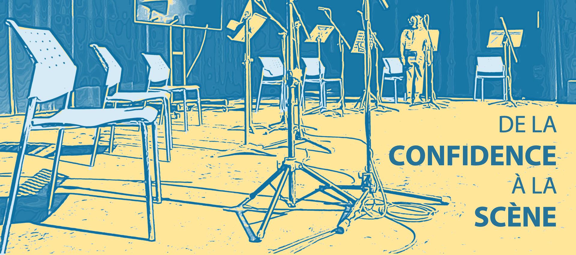DE LA CONFIDENCE À LA SCÈNE — Lecture publique
